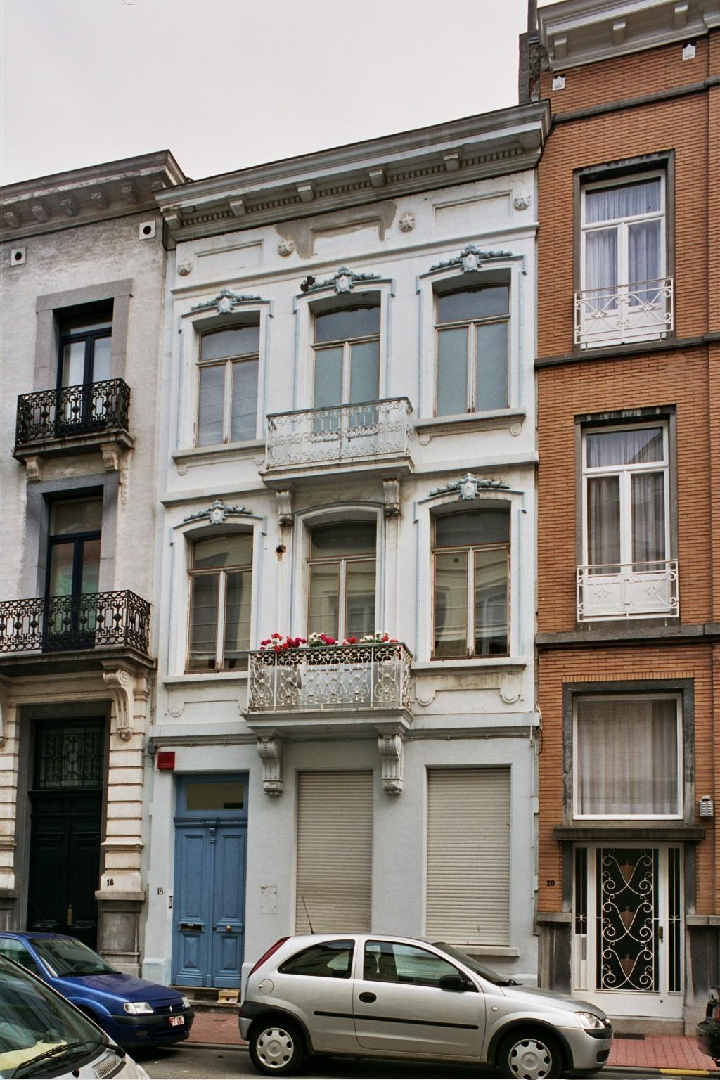 Rue Faider 18., 2004