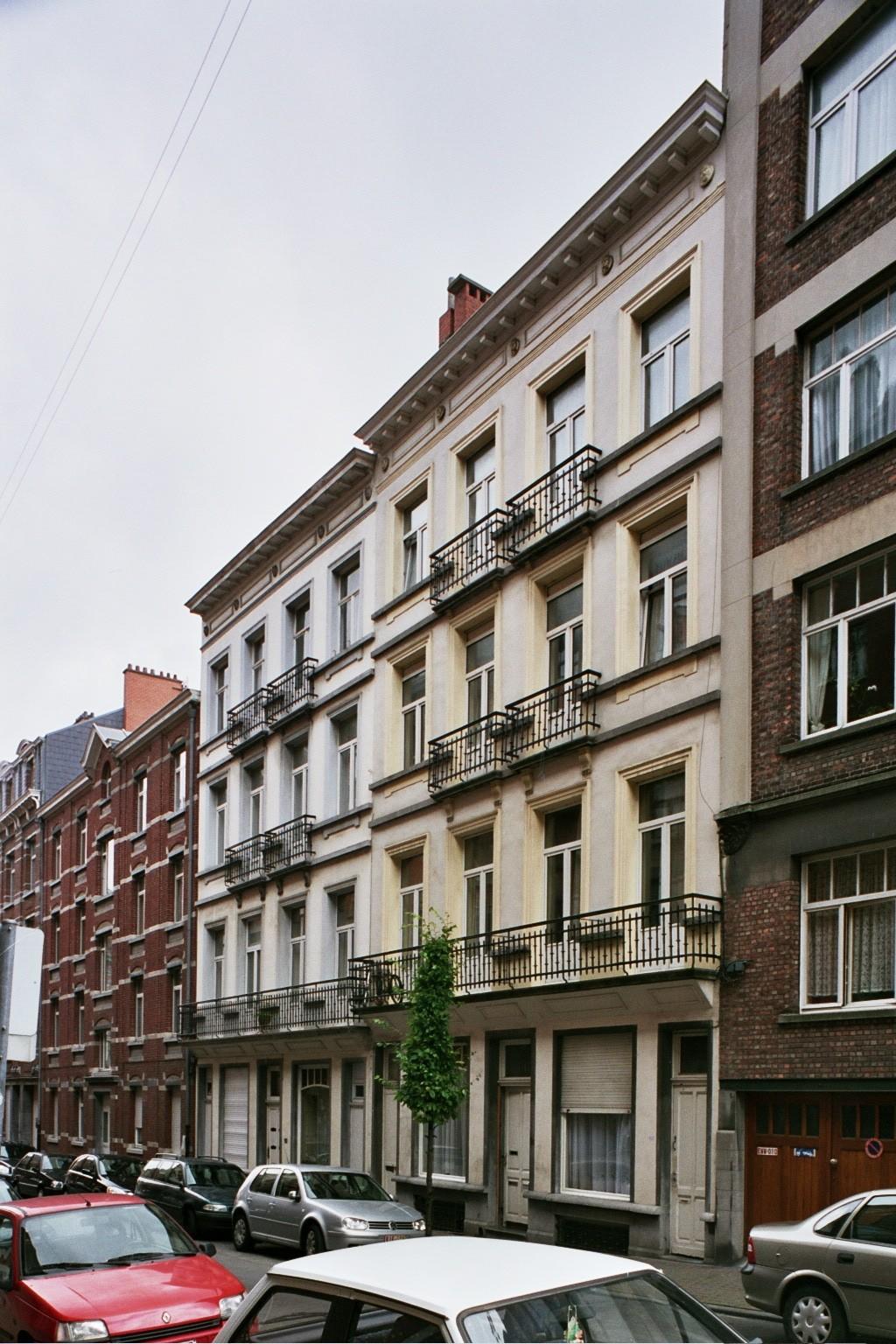 Rue du Fort 92, 98-100., 2004