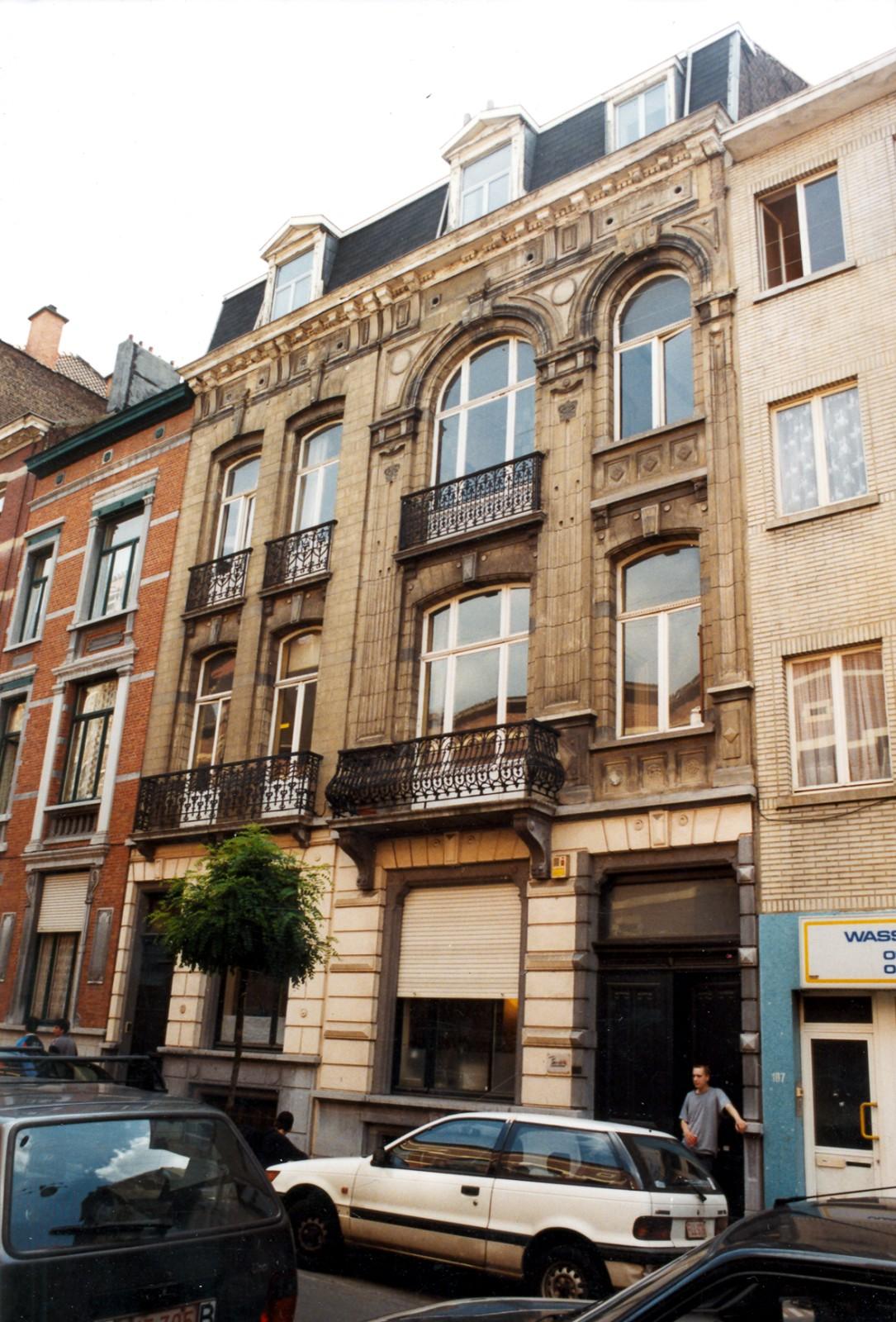 Rue du Fort 111, 109., 1998
