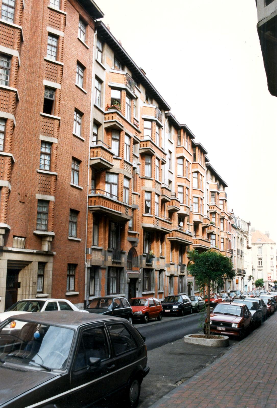 Rue du Fort 121, 119 et 117., 1997