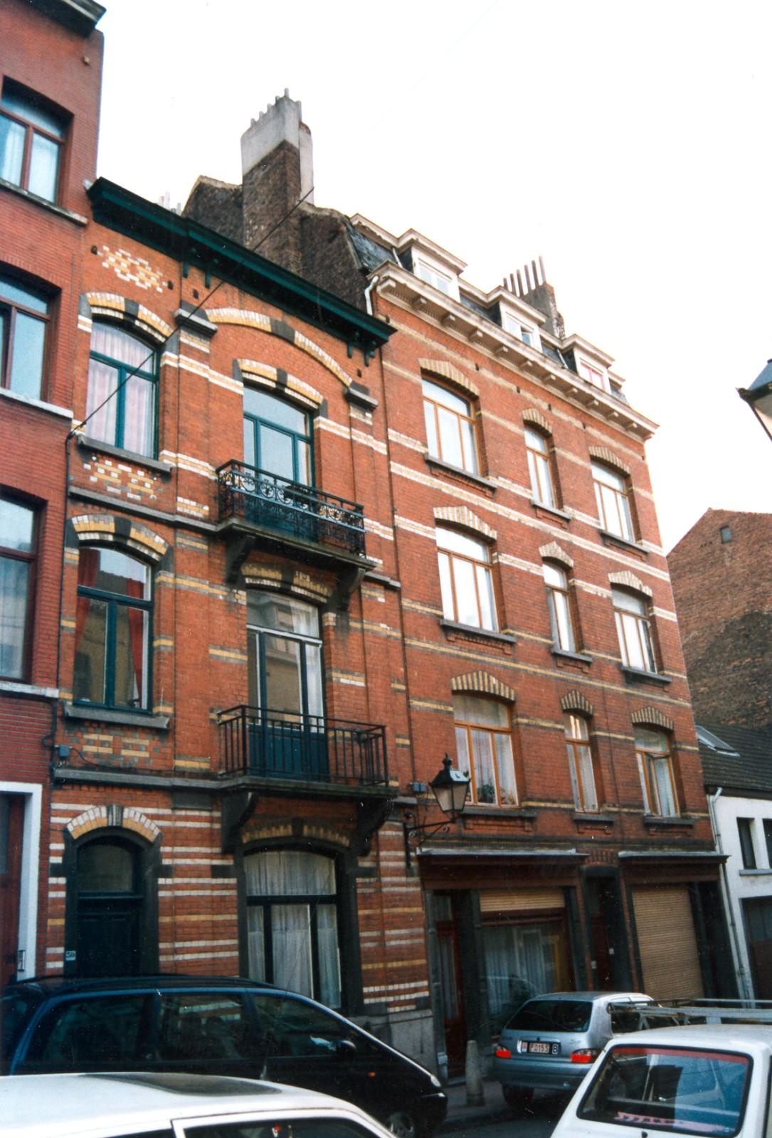 Rue des Fortifications  30 et 32-34., 1994