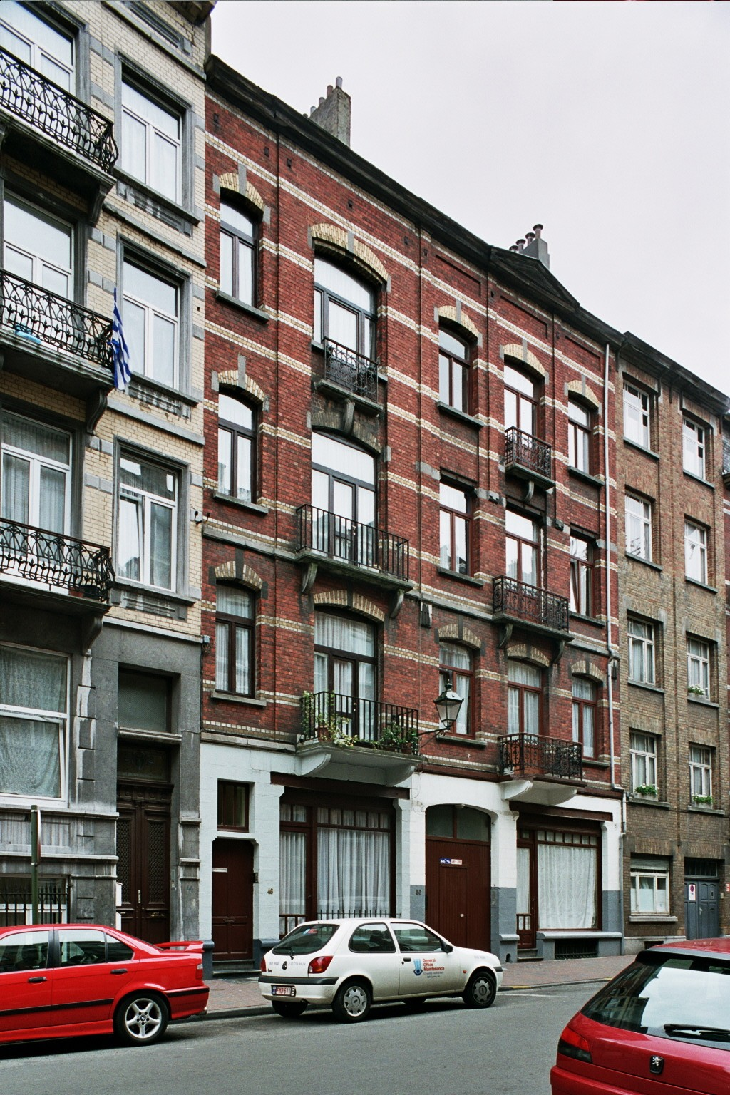 Gustave Defnetstraat 46-48 en 50-52., 2004