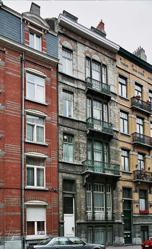 Rue Gustave Defnet 55., 2004