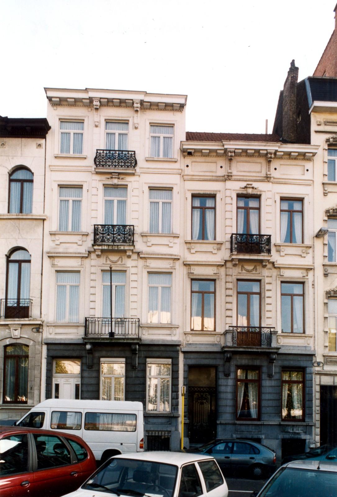Avenue Henri Jaspar 95 et 96., 2003