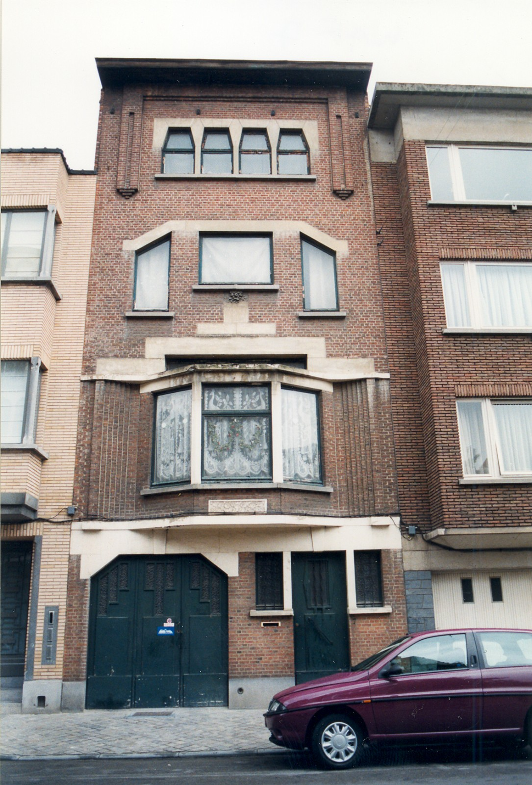 Rue Henri Wafelaerts 7., 1998