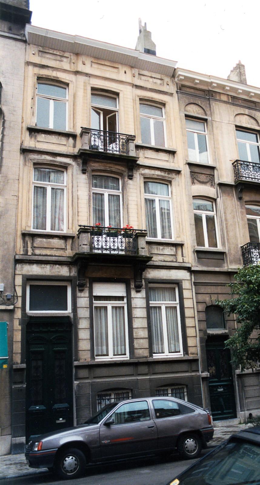 Rue Henri Wafelaerts 14., 1998