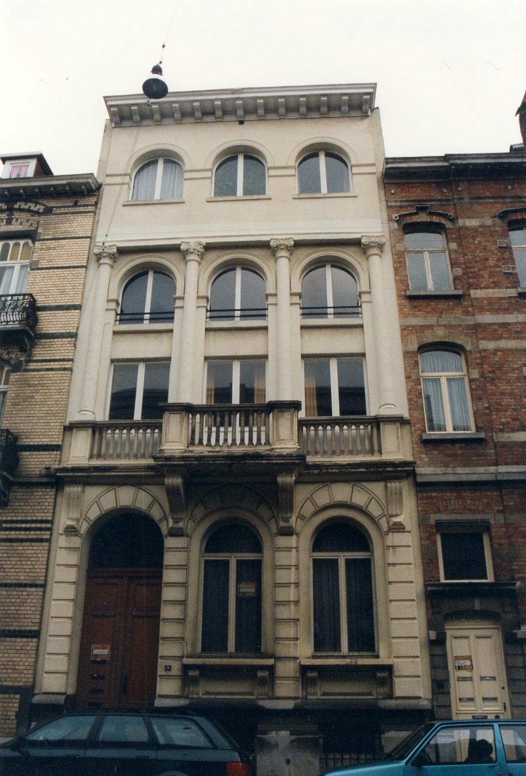 Rue Henri Wafelaerts 52., 1995
