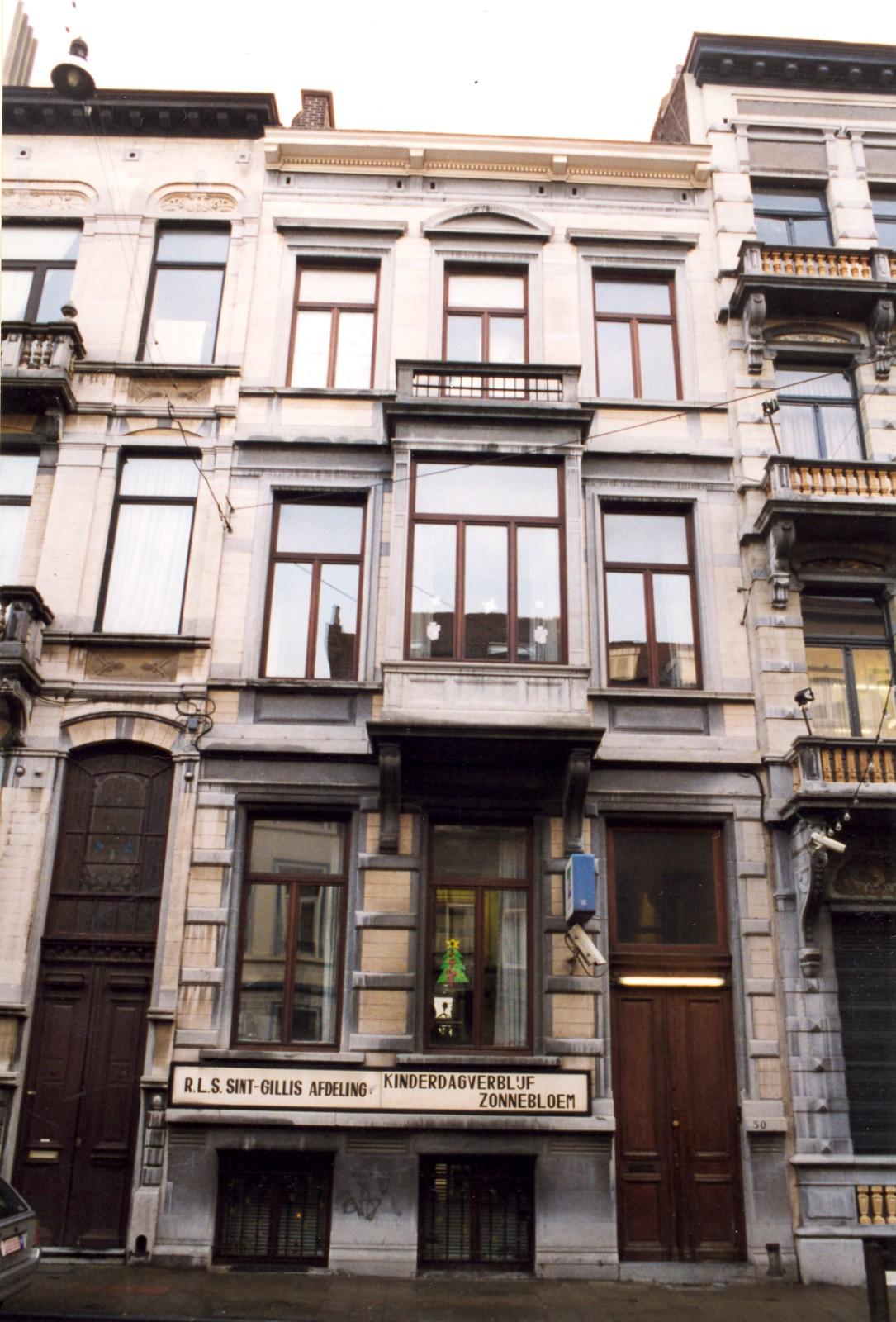 Rue de l'Hôtel des Monnaies 50., 1999