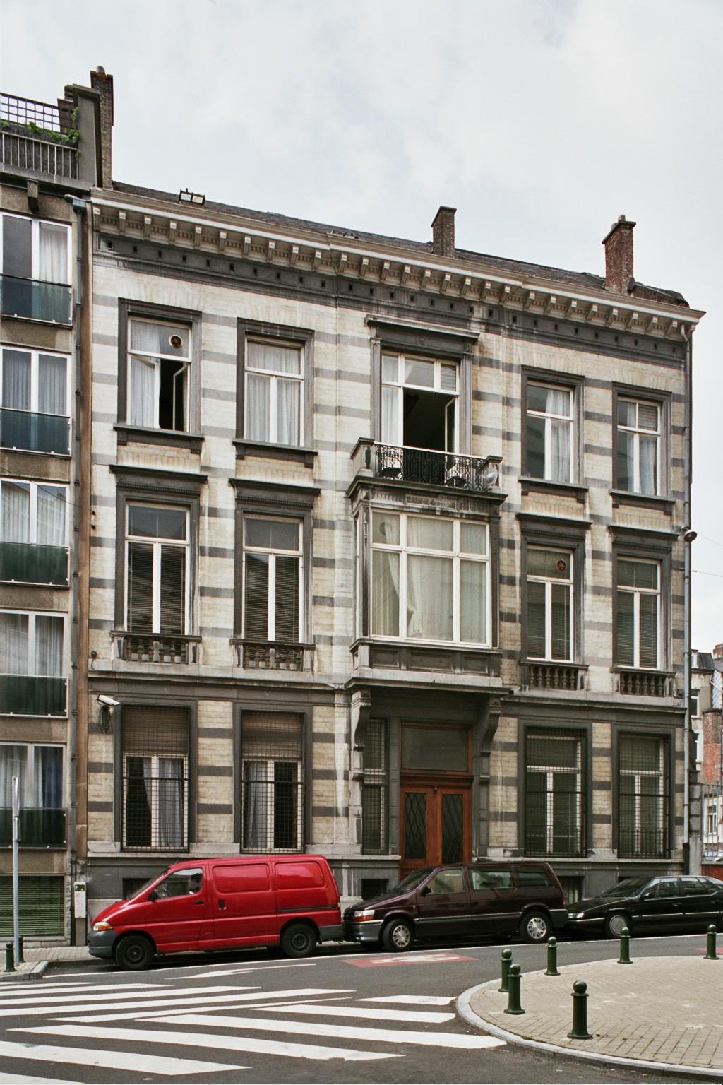 Rue Jean Stas 41., 2004