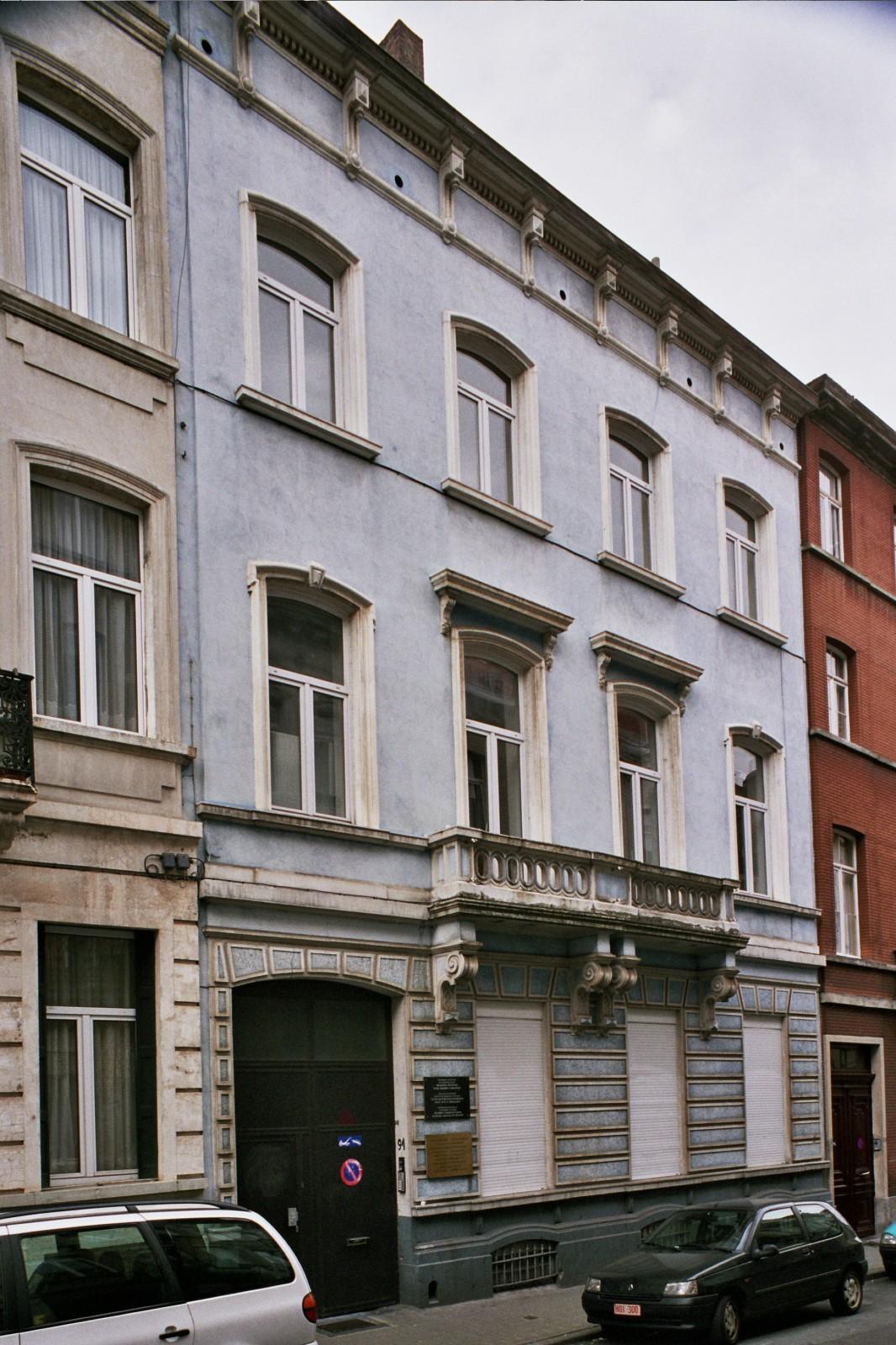 Rue Joseph Claes 91., 2004