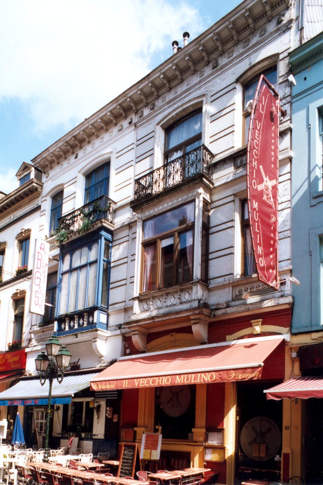 Rue Jourdan 8 et 10., 2004