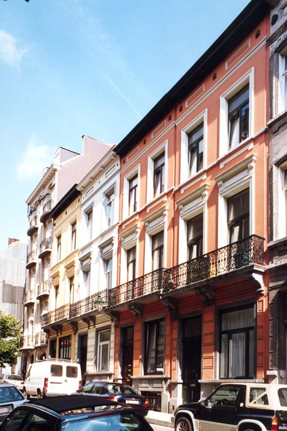 Rue Jourdan 38, 40, 42 et 44., 2004