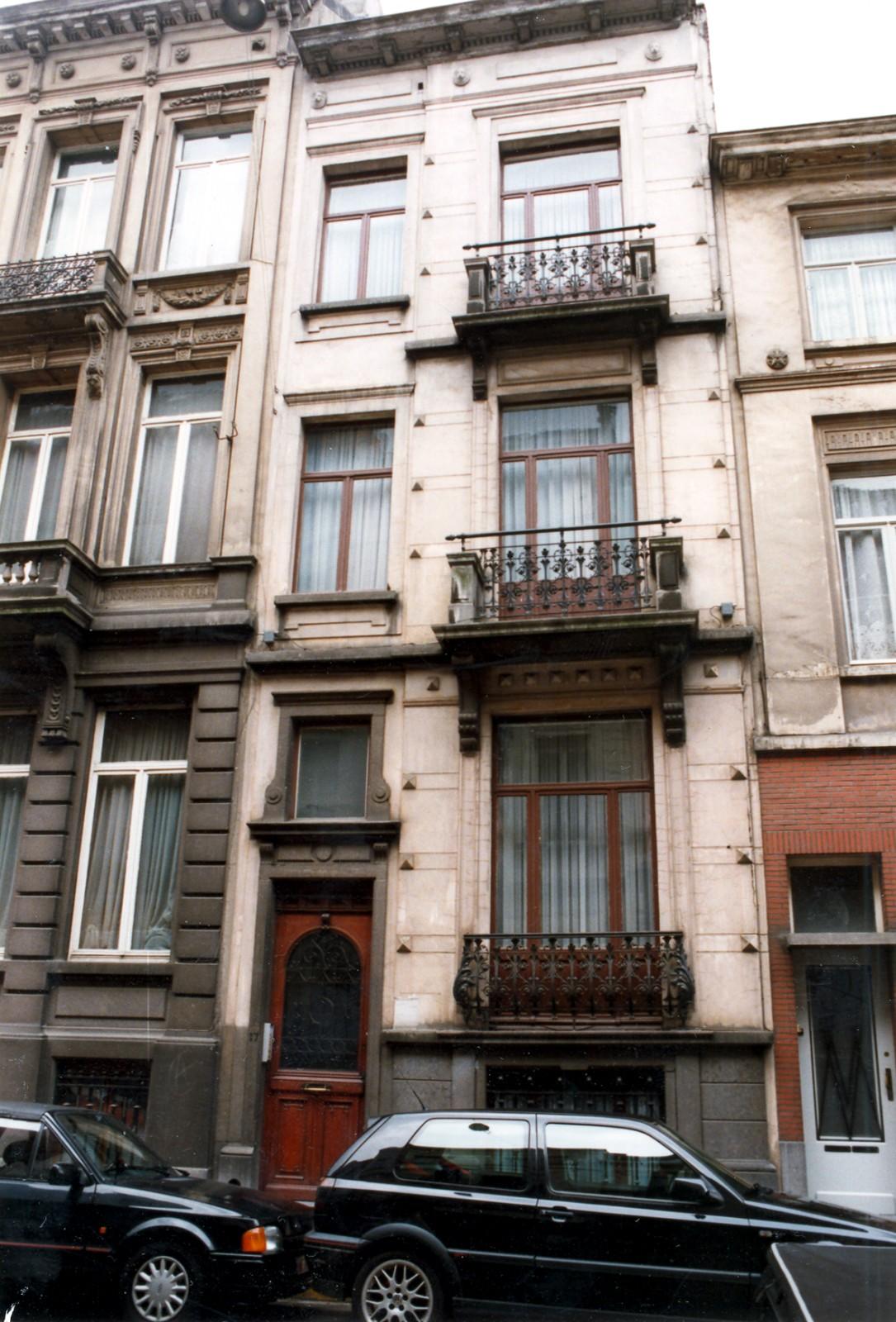 Rue de la Linière 17., 1998