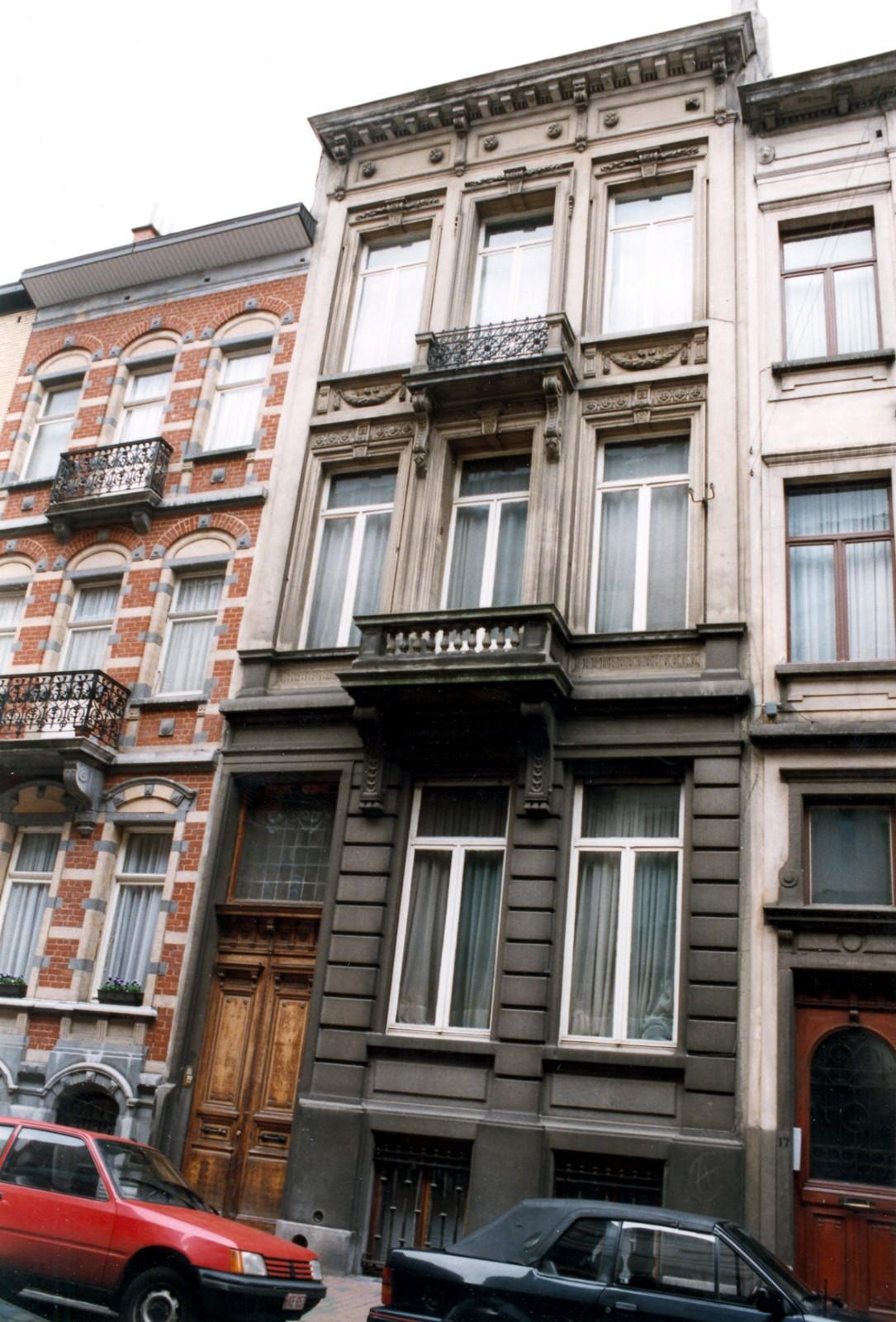Rue de la Linière 19., 1998