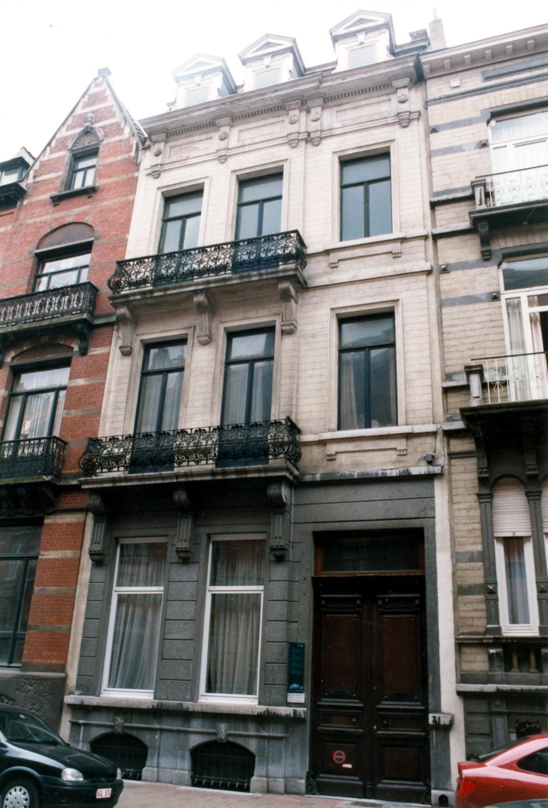 Rue de la Linière 31., 1998