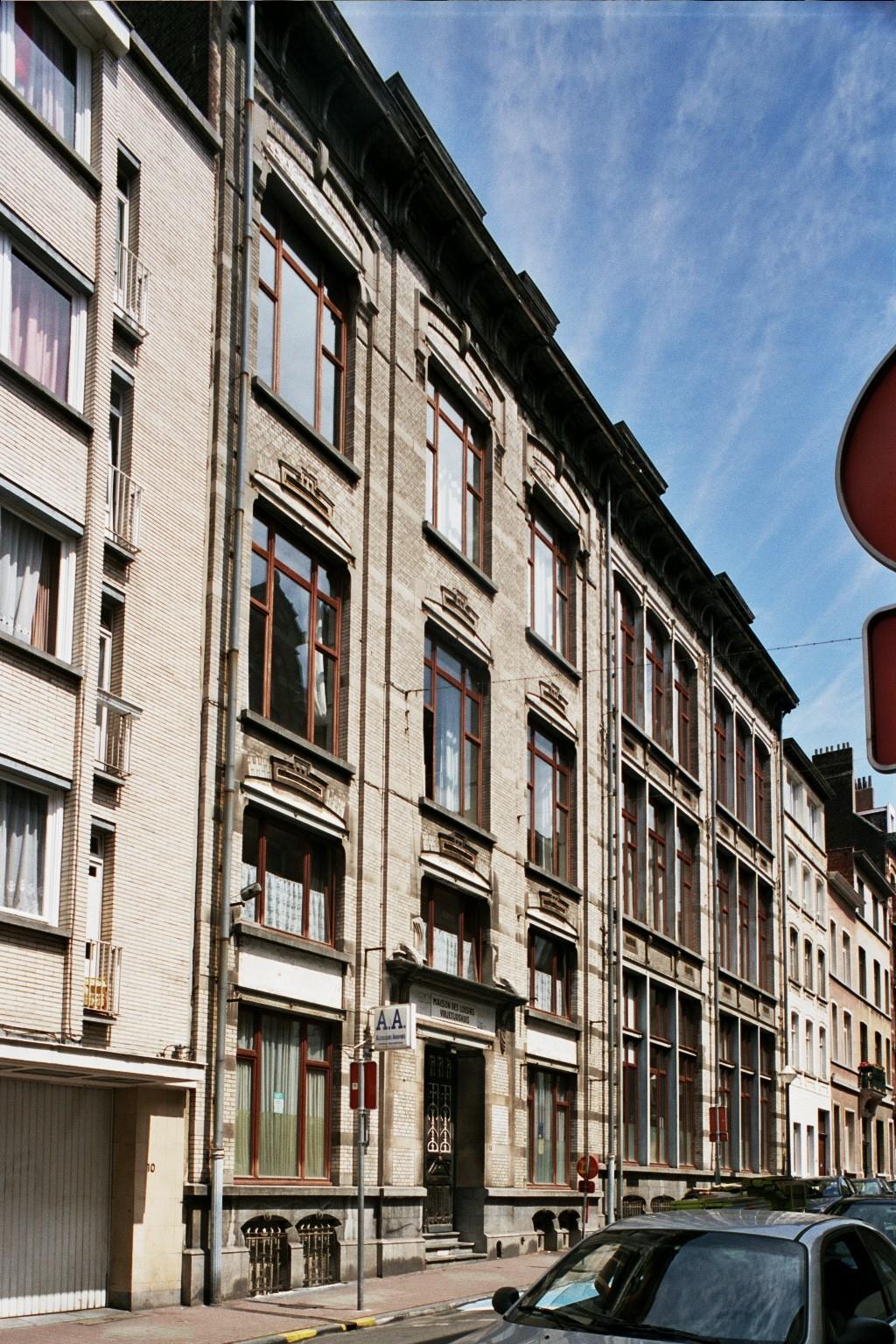 Rue Louis Coenen 12., 2004
