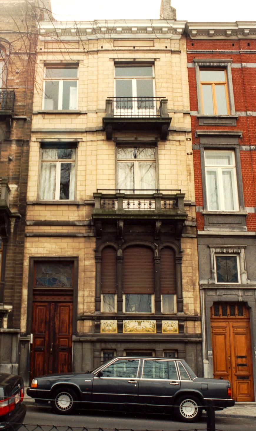 Place Louis Morichar 45., 1995