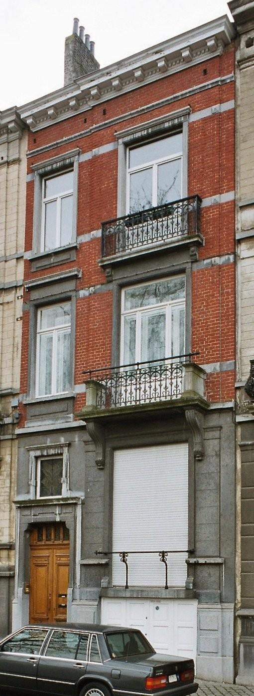 Place Louis Morichar 46., 2003