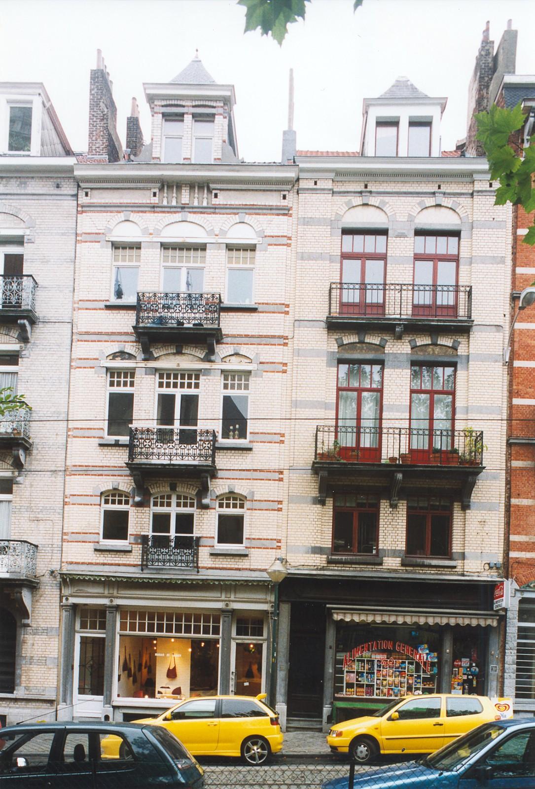 Place Maurice Van Meenen 31, 33., 2003