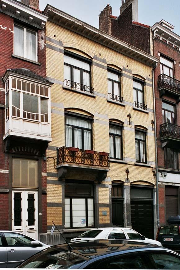 Rue Maurice Wilmotte 14., 2004
