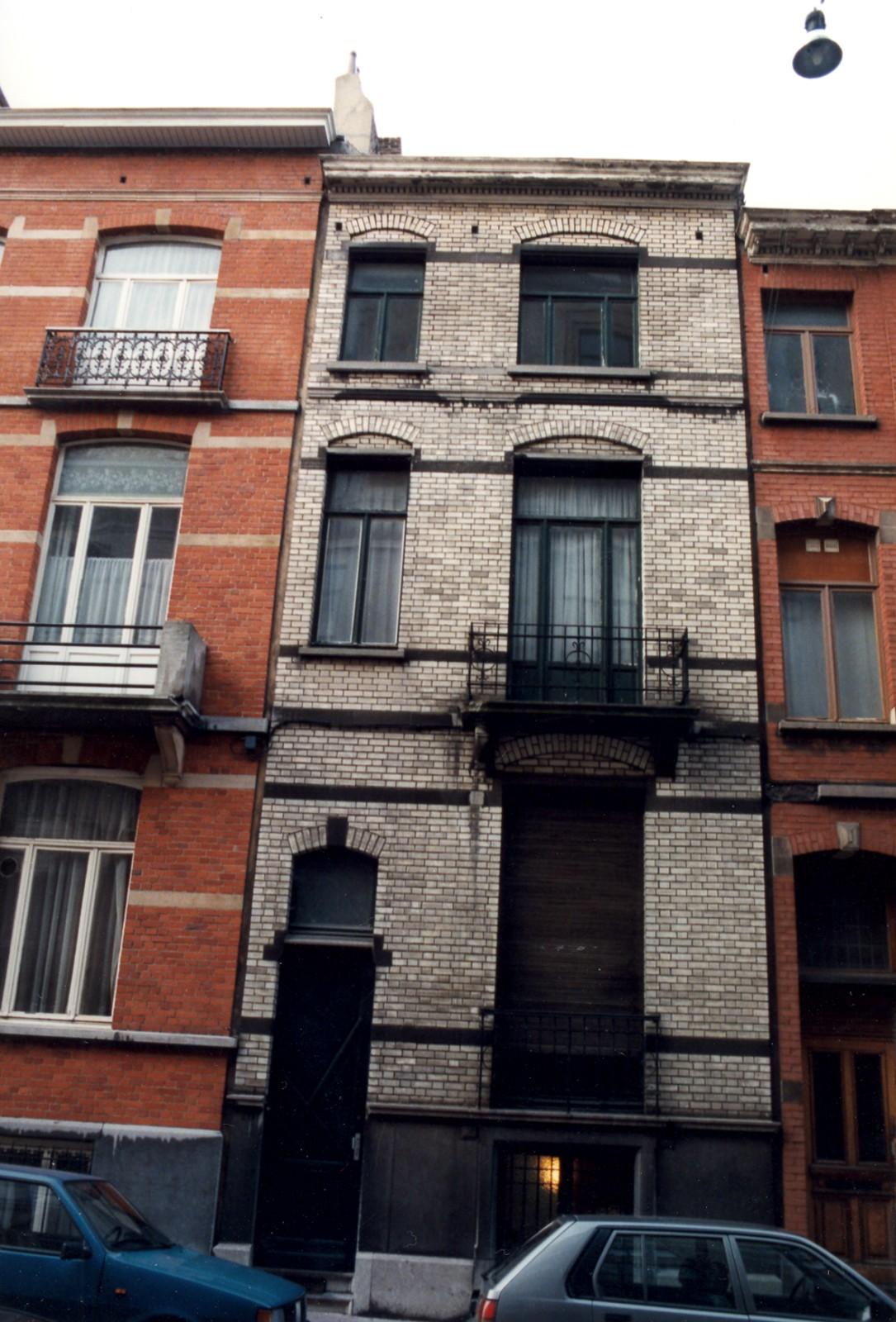Rue Maurice Wilmotte 76., 1999