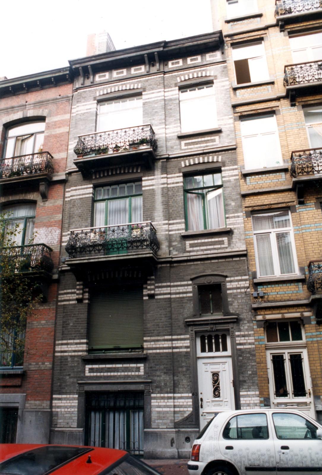 Montenegrostraat 43., 1999