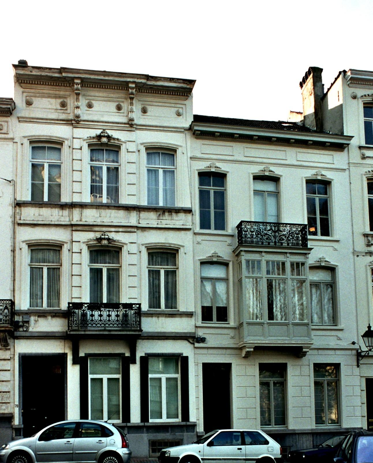 Rue de Neufchâtel 70, 72., 2004