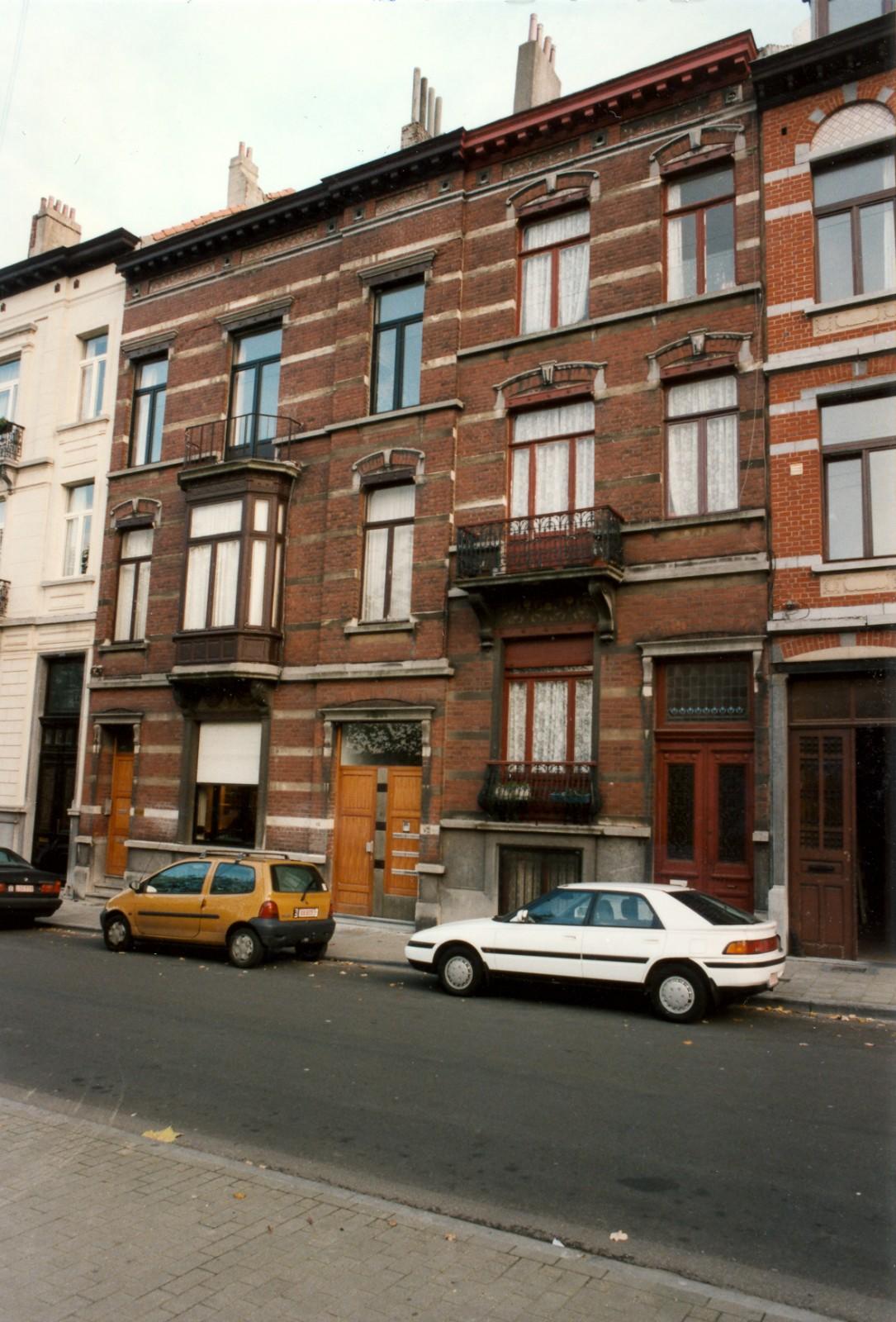 Rue de Parme 82-82a et 84., 1999