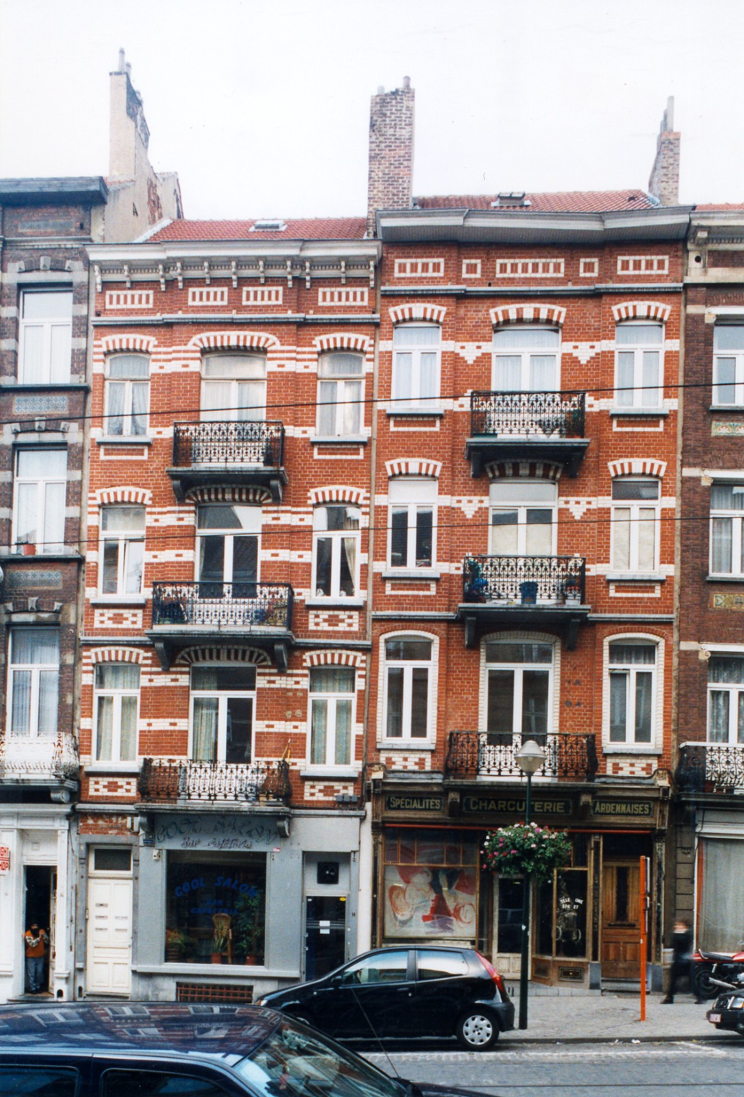 Avenue Paul Dejaer 14 et 16., 2003