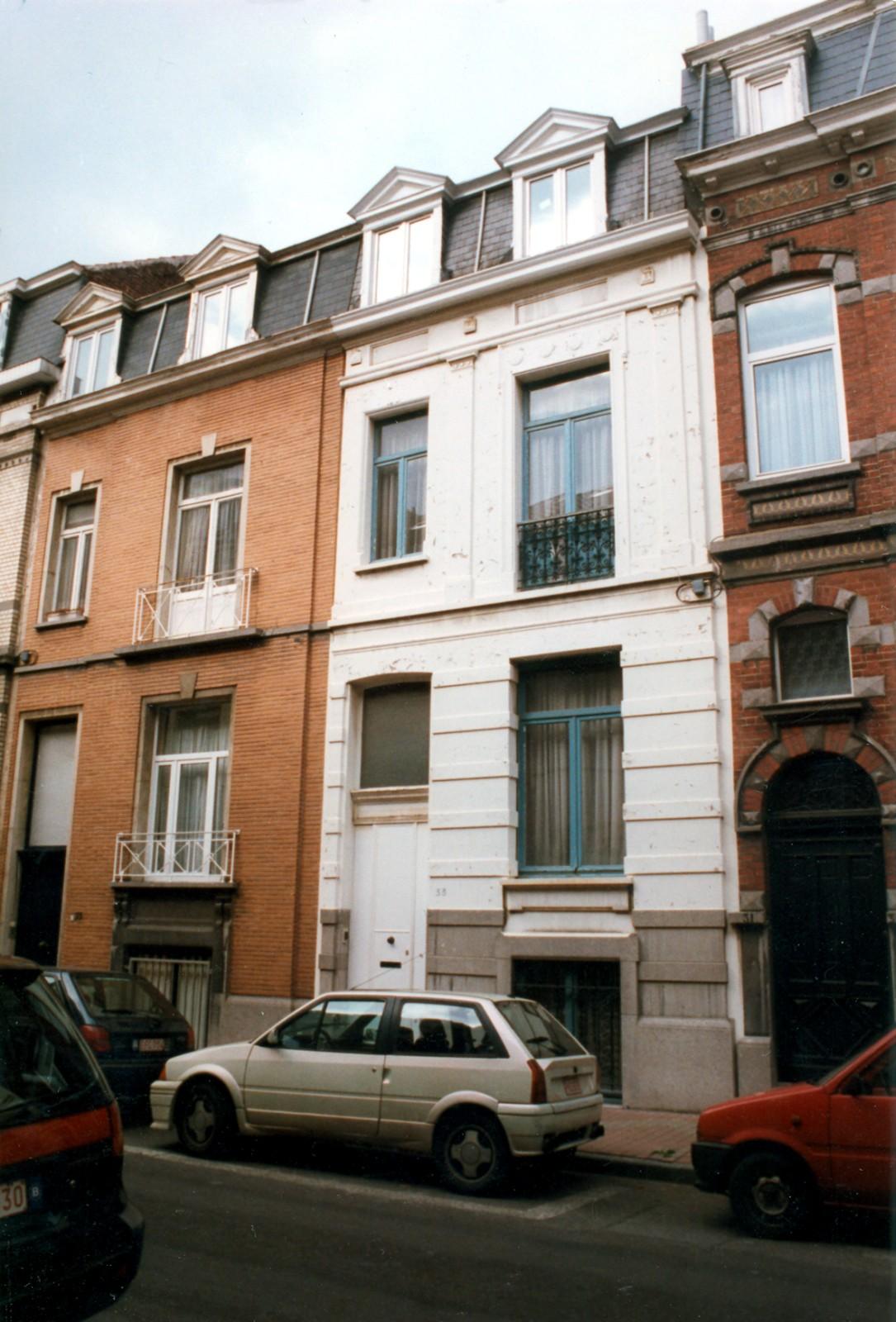 Rue du Portugal 35 et 33., 1999