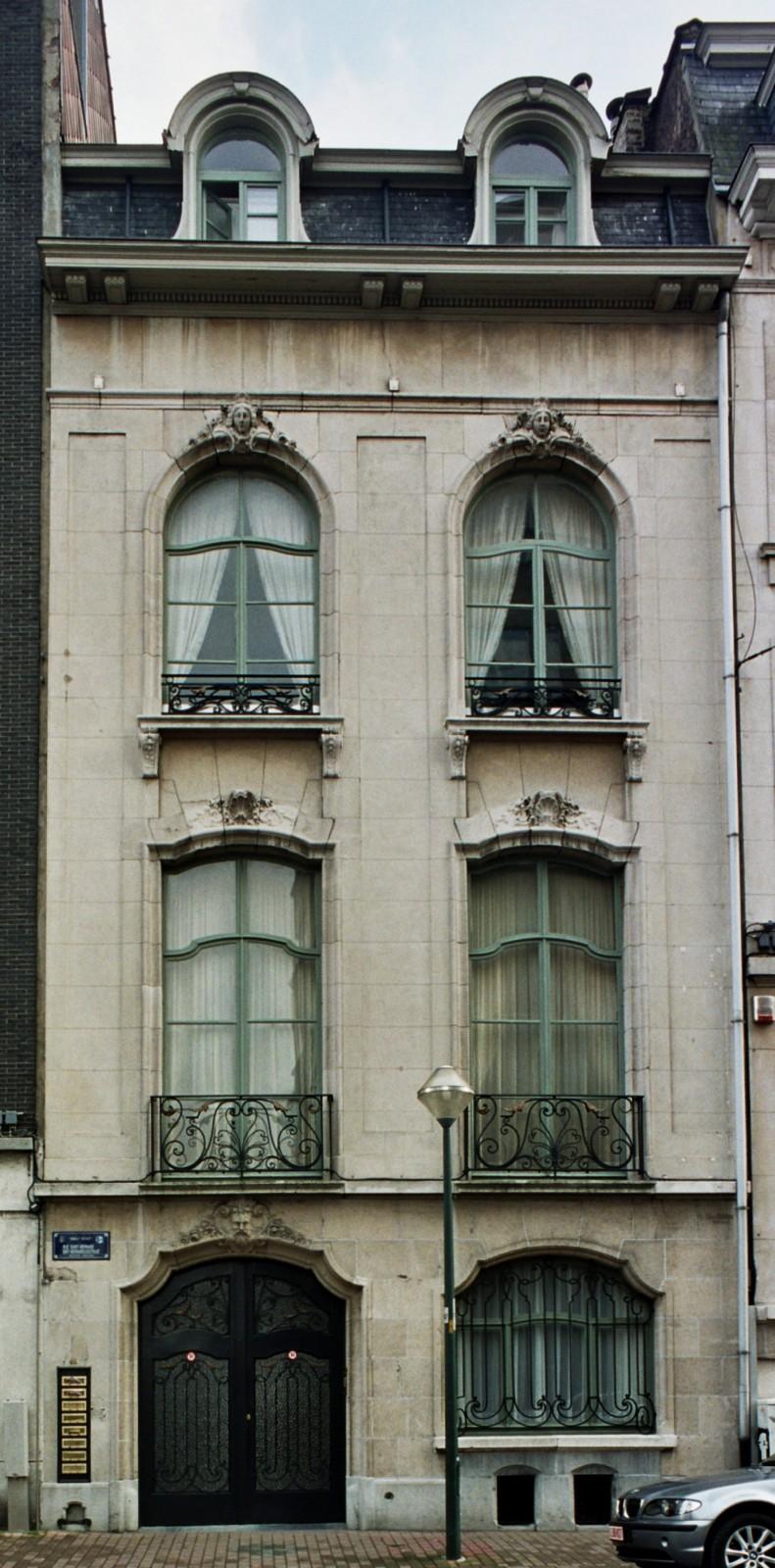 Rue Saint-Bernard 44., 2004