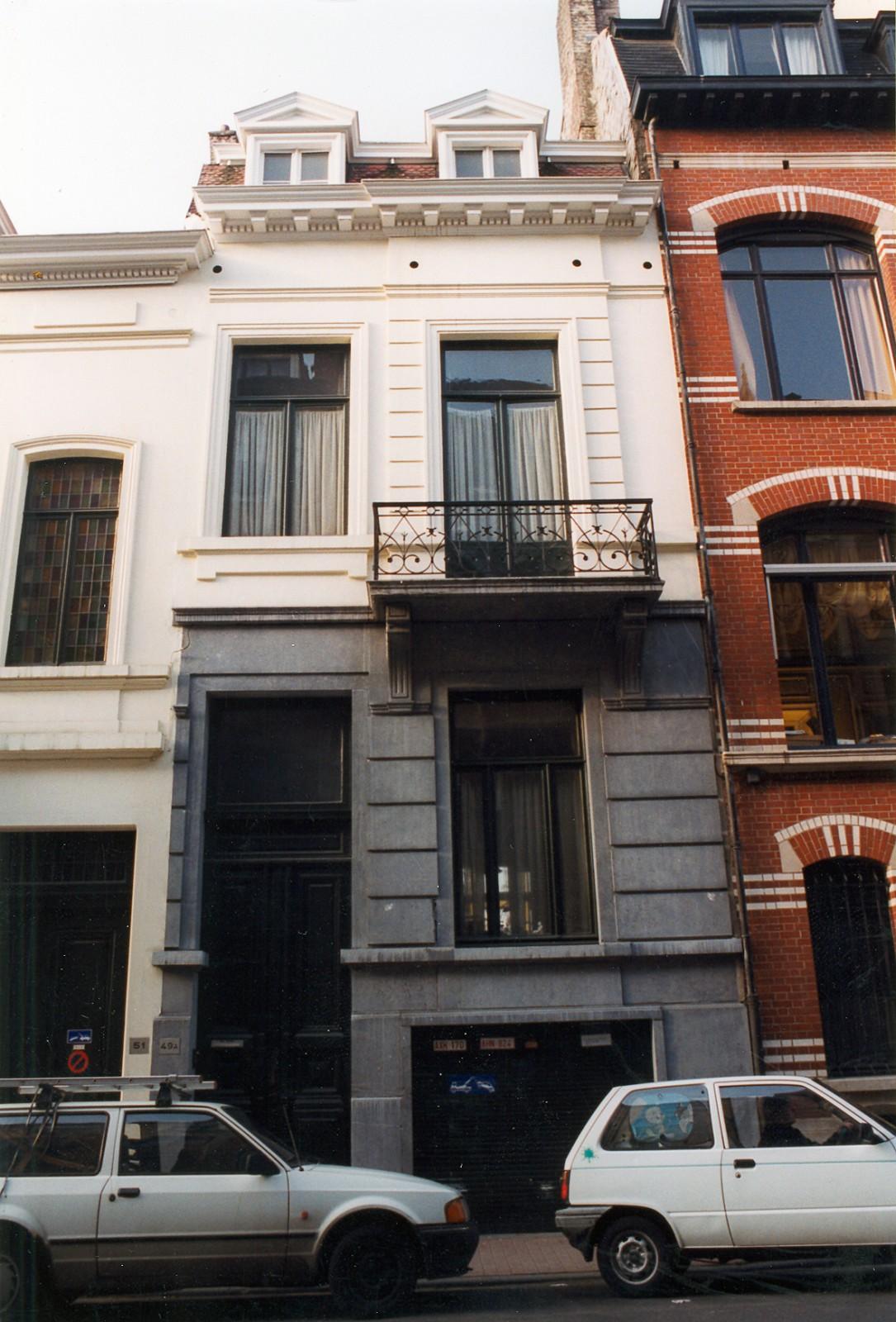 Rue Saint-Bernard 49., 1999
