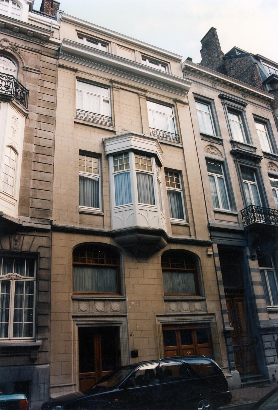 Rue Saint-Bernard 70., 1995