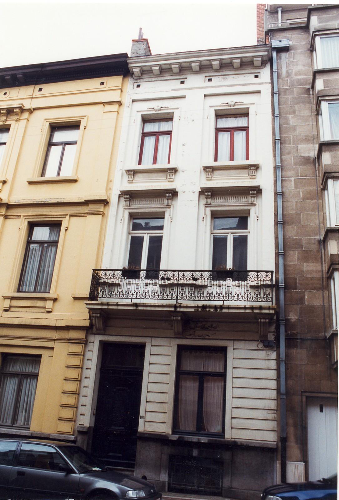 Rue Saint-Bernard 106., 1999