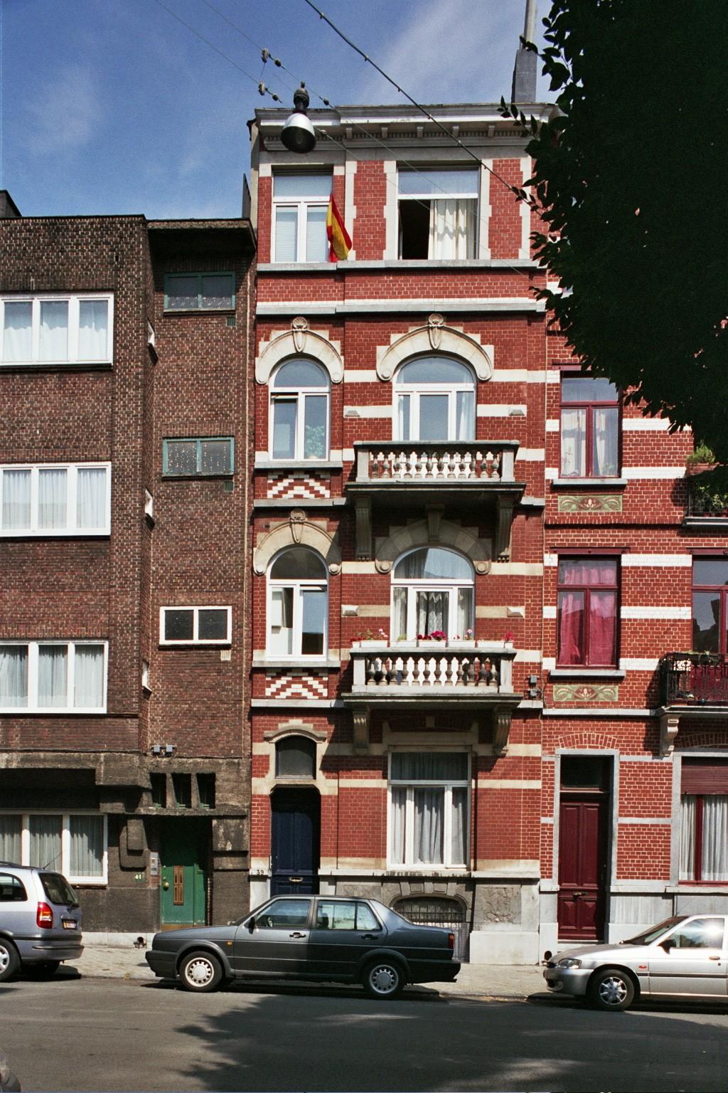 Rue de Savoie 39., 2004