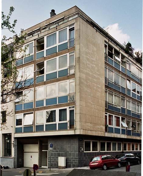 Rue de la Source 74 et rue Capouillet 61-63., 2004
