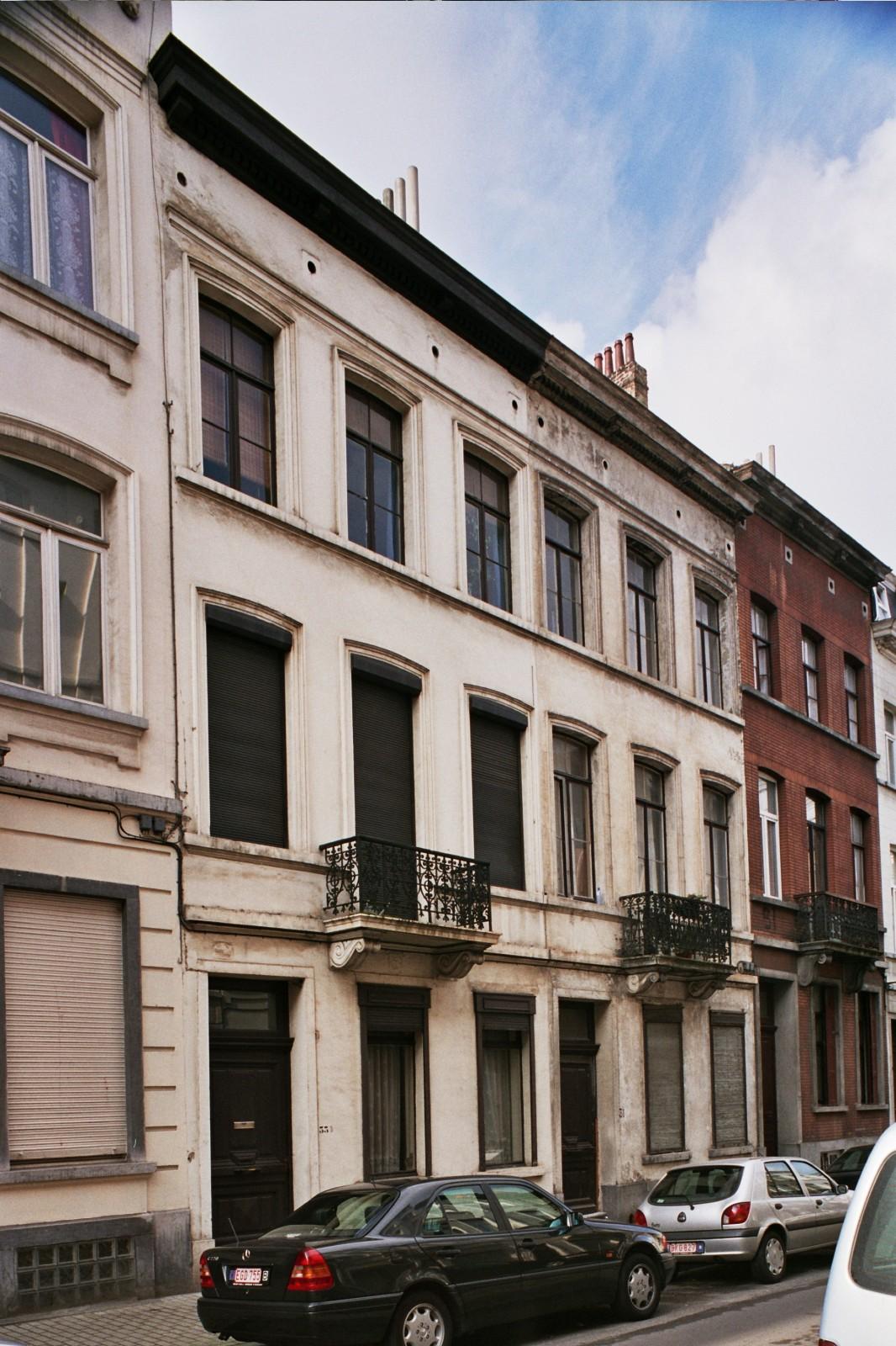 Rue de Suède 33 et 31., 2004
