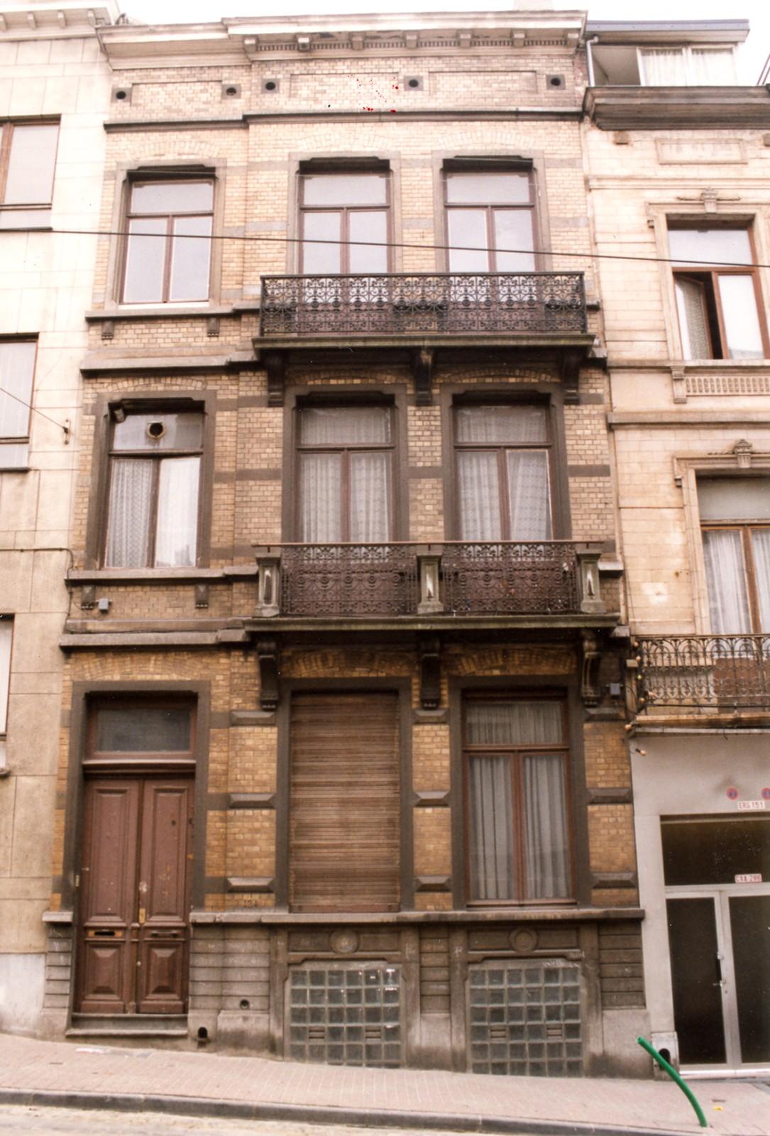 Rue Théodore Verhaegen 124., 1999