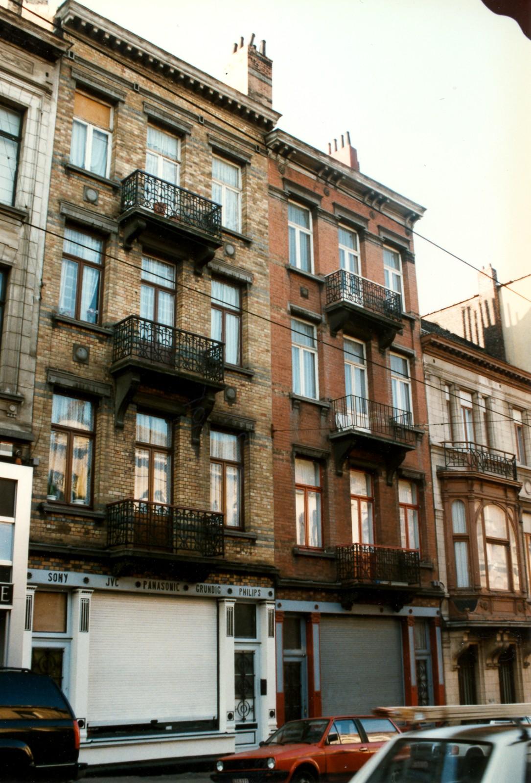 Rue Théodore Verhaegen 160 et 162., 1997