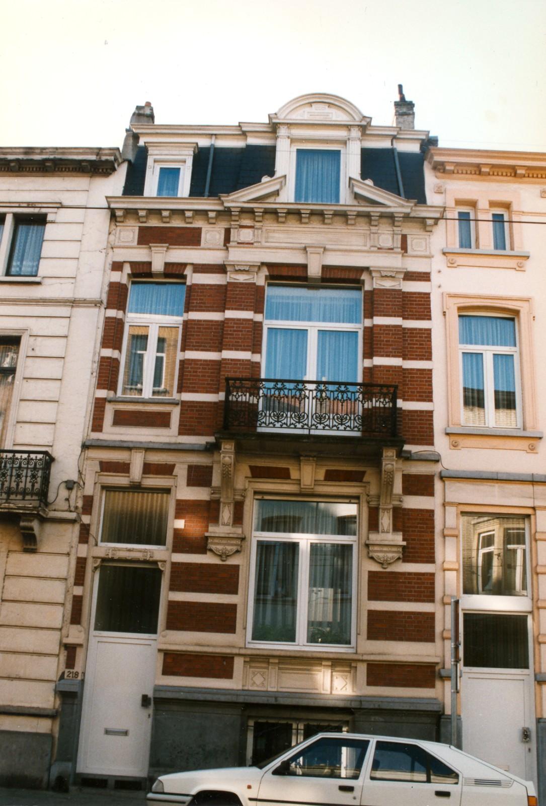 Rue Théodore Verhaegen 218., 1998