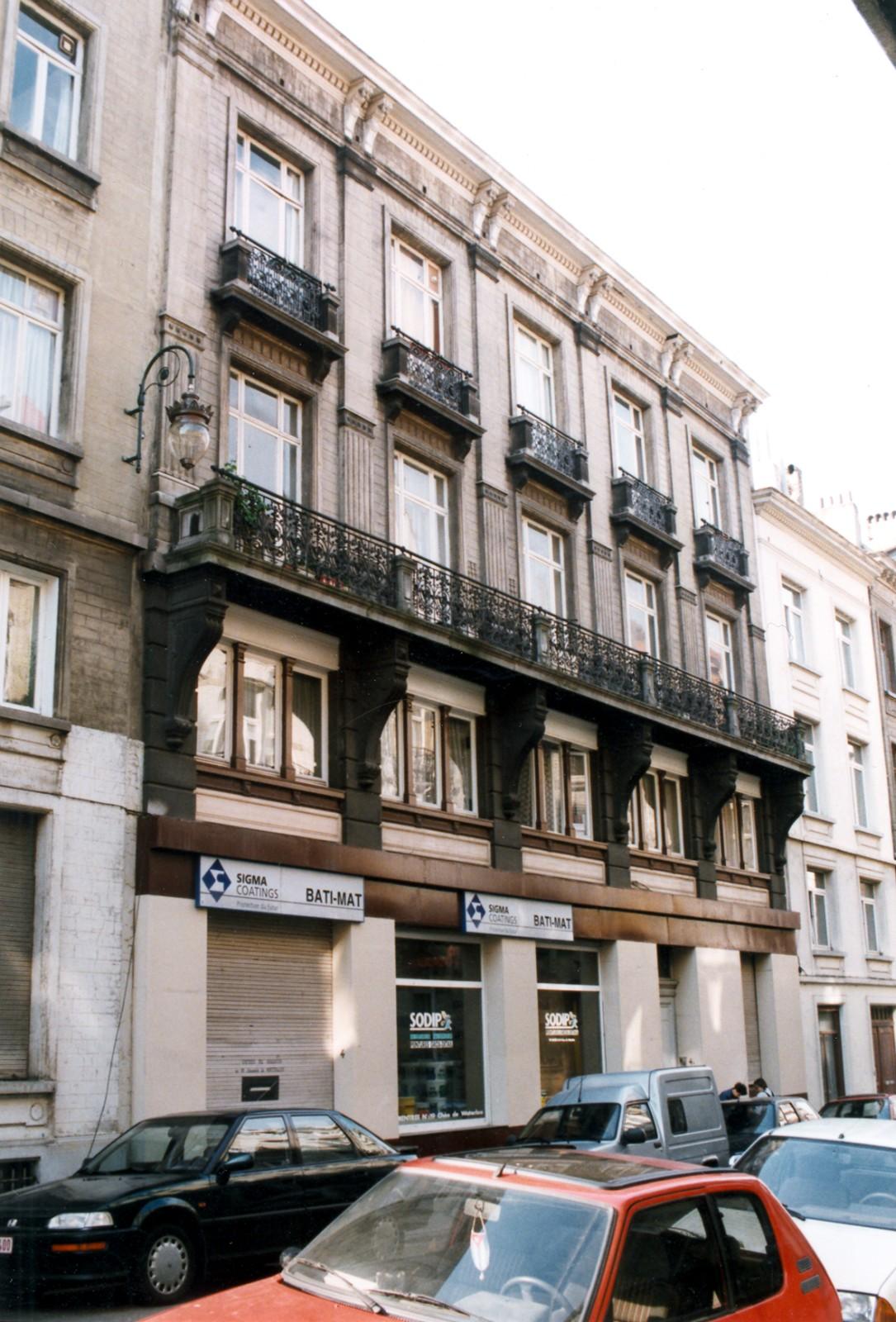 Rue Vanderschrick 4-4a., 1998