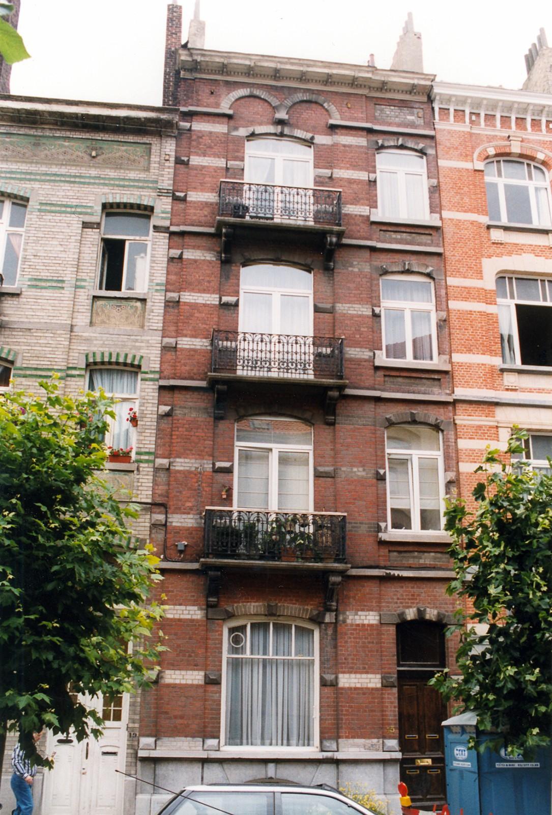 Avenue des Villas 15., 1999