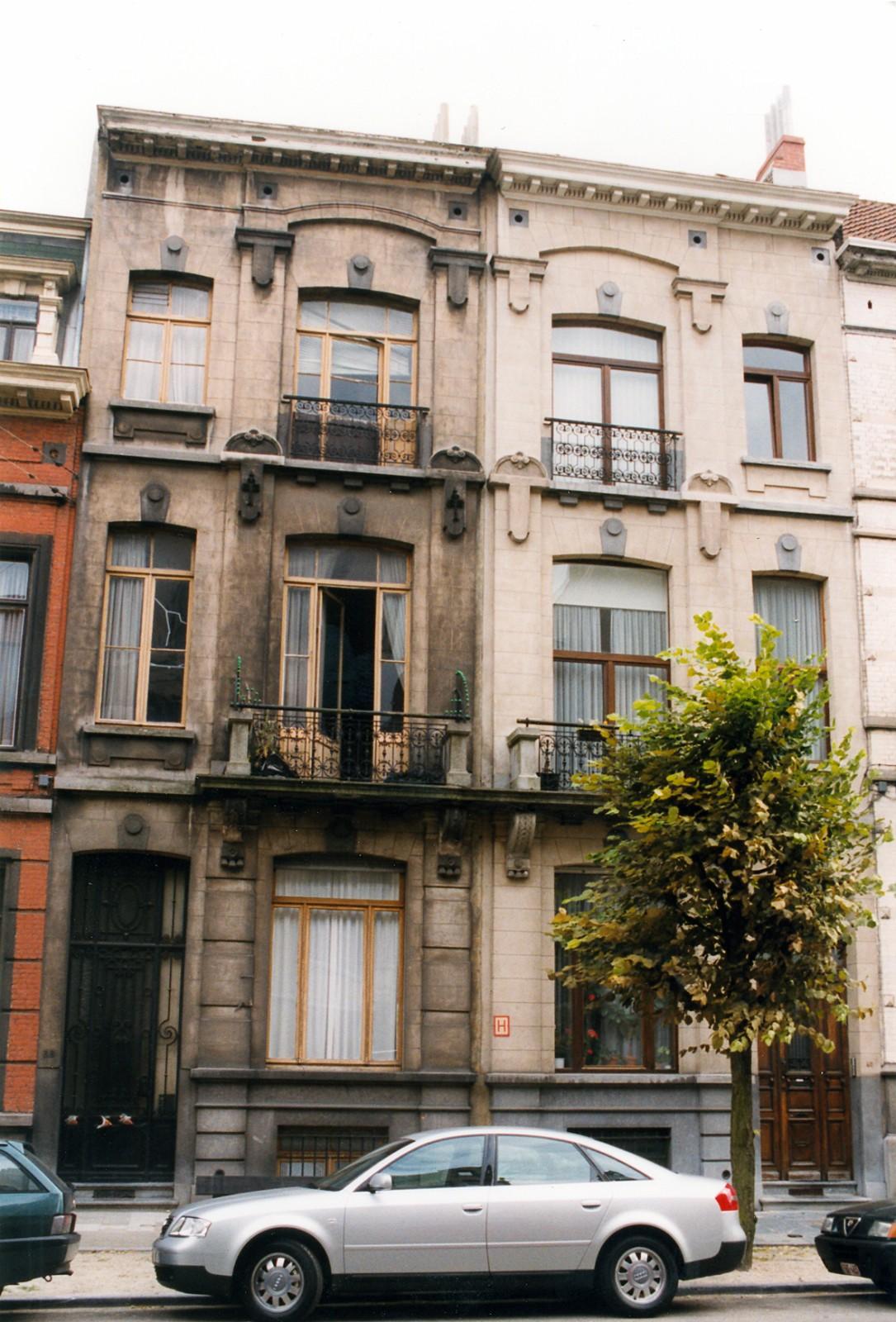 Avenue des Villas 38, 40., 1999