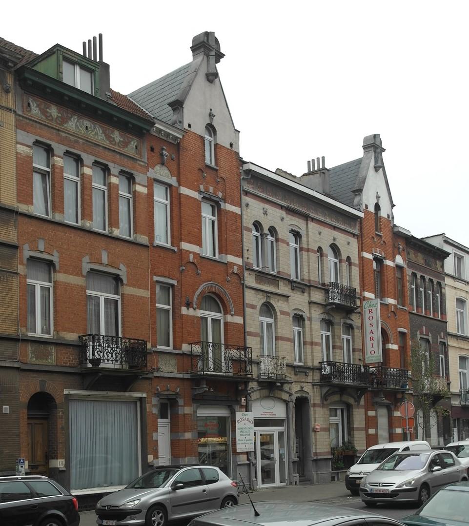 Rue Eloy 18 à 26, 2015
