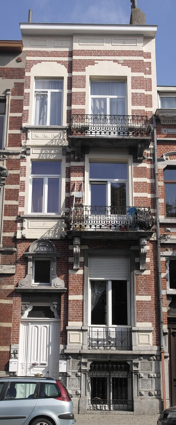 Rue Emile Carpentier 43, 2015