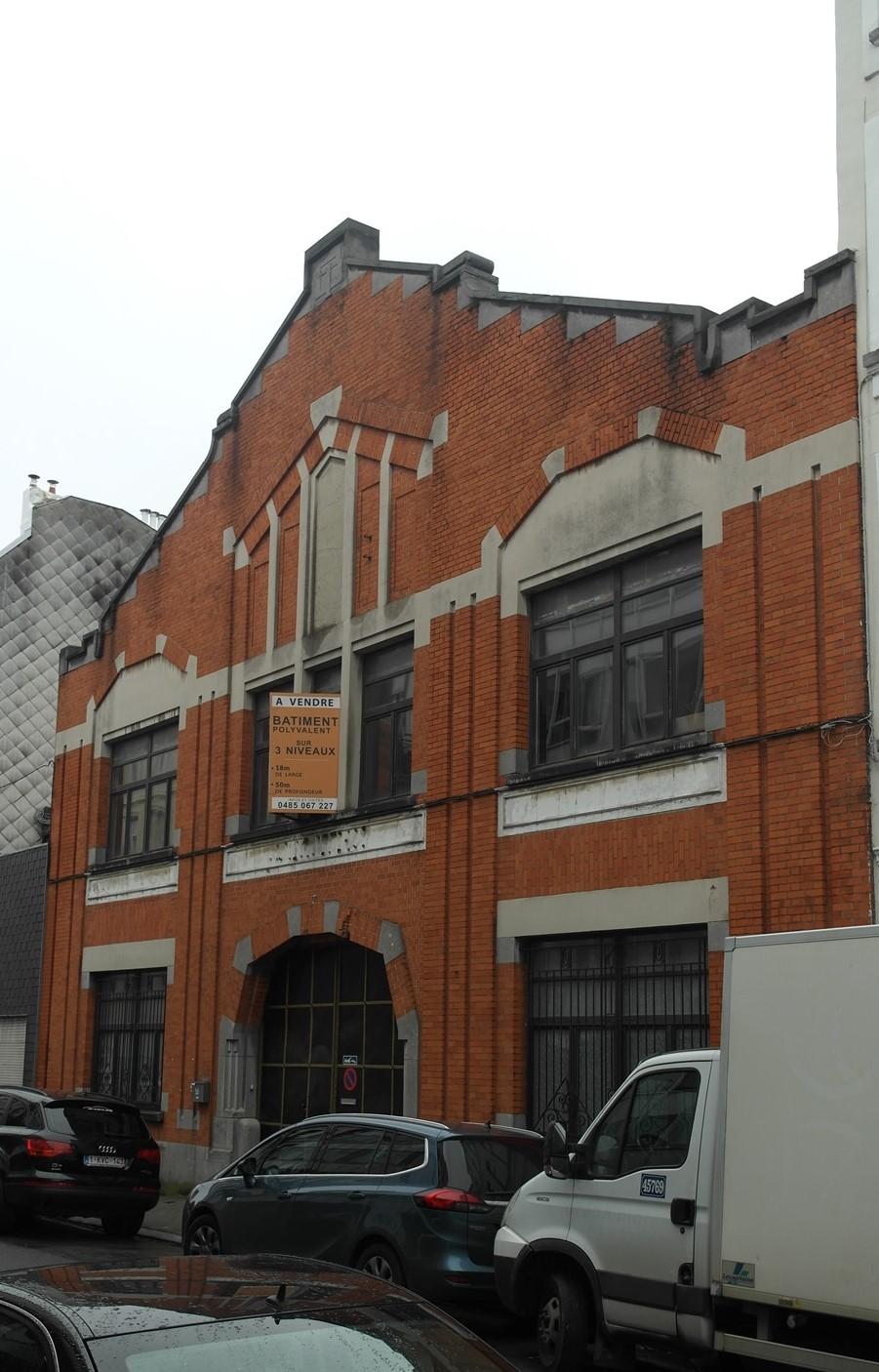 Rue Gheude 50, ancien Brasserie IMPERIAL, 2015