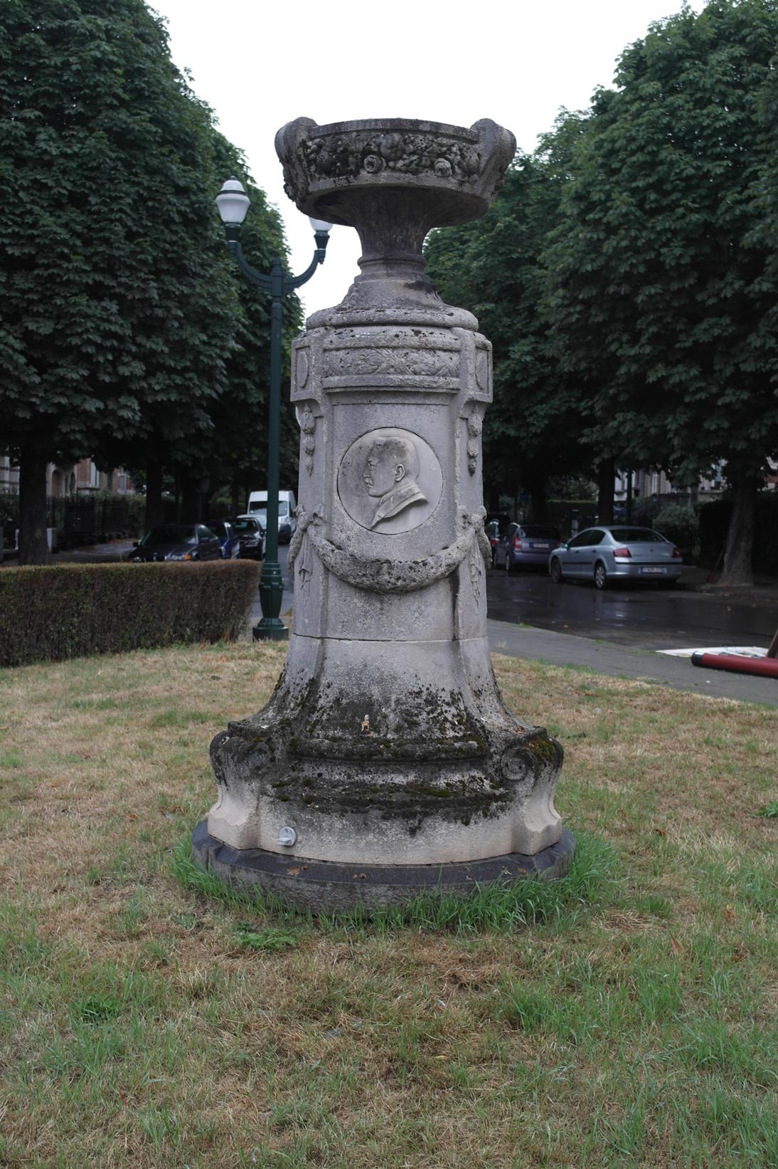 Avenue Limbourg, Monument Hippolyte Limbourg, 2016