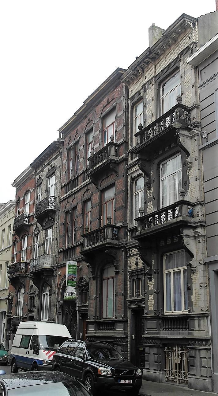 Rue Plantin 21, 23, 25, 25A et 27, 2015