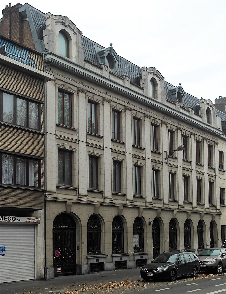 Boulevard Poincaré 29-30-31, 2015