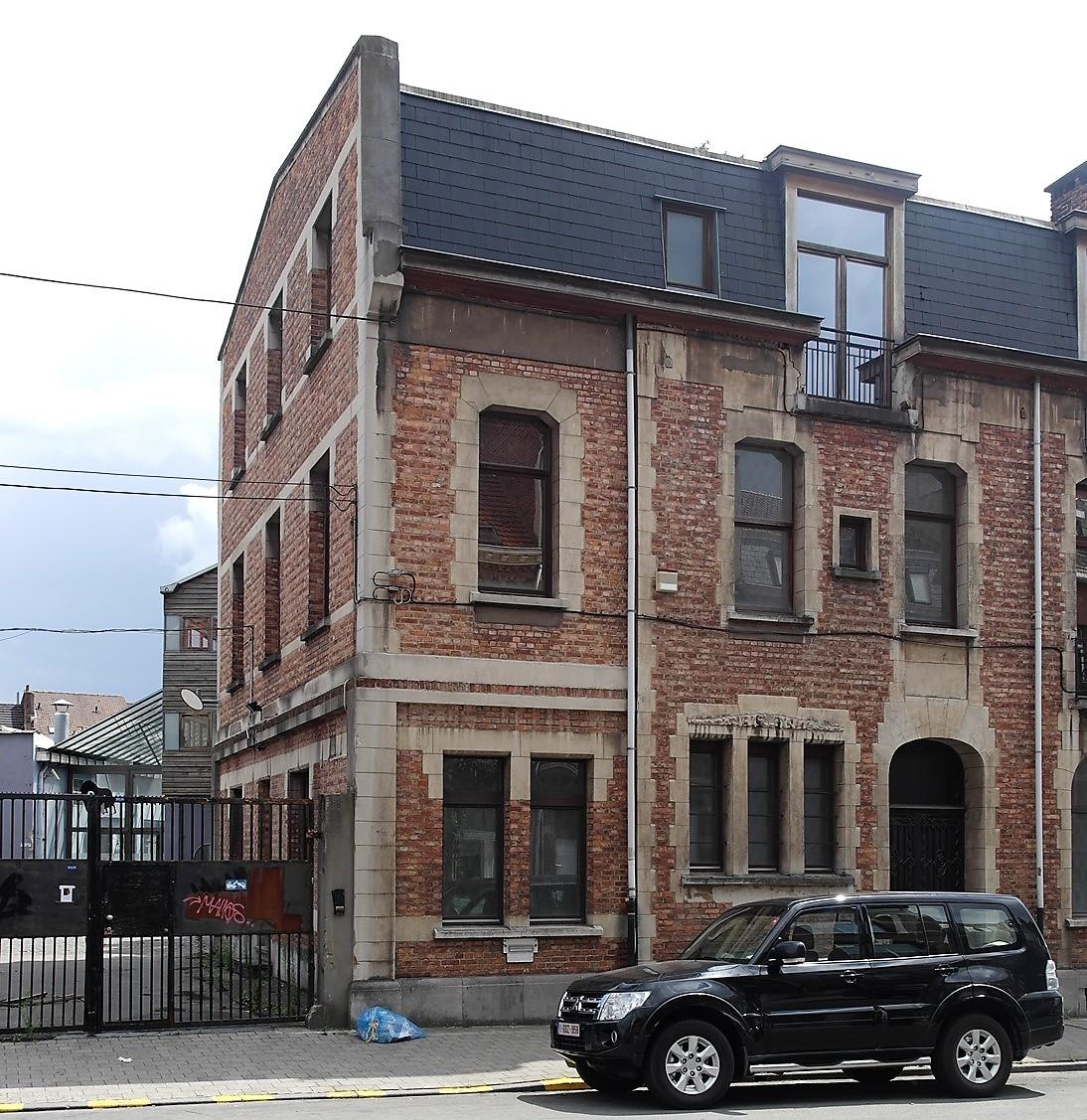 Rue de Veeweyde 98-100, 104, 2015